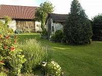 zadní část zahrady