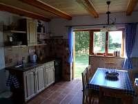 kuchyň - chata ubytování Horní Planá