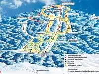 nedaleké lyžování, sáňkování atd