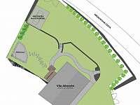 Vila Albrecht - venkovní pohled - k pronájmu Vimperk