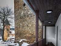 Vila Albrecht - vstup - ubytování Vimperk