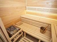 Finská a bio sauna - ubytování Černá v Pošumaví