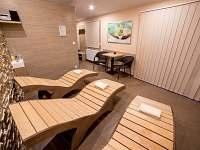 Odpočívací zóna v sauně - Černá v Pošumaví
