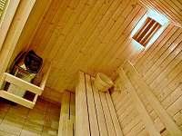 Chata 2 - sauna