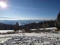 Šumava - zima 2020 - pronájem chalupy Březovík