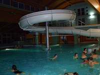 Aquapark ve Wellnes hotelu Frymburk.