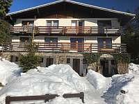 Apartmán na horách - zimní dovolená Železná Ruda
