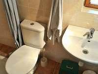 koupelna, wc - pronájem chaty Nová Pec