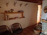 obytná místnost - pronájem chaty Nová Pec
