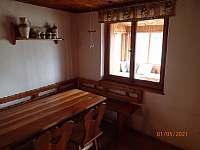 obytná místnost, stůl - Nová Pec