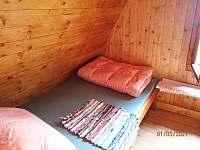 podkroví - ložnice - Nová Pec