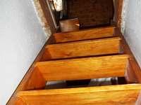 schody do podkroví - Nová Pec