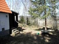 vchod - chata ubytování Nová Pec
