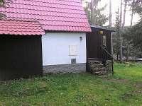 vchod - chata k pronájmu Nová Pec
