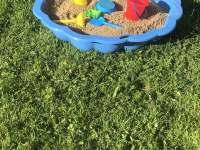 Pískoviště pro nejmenší dítka - Frymburk