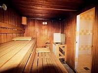 Sauna - apartmán k pronájmu Strážný - Mitterfirmianstreut