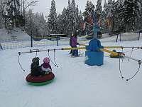 Skiareál - cirkus pro děti - Strážný - Mitterfirmianstreut