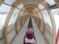 Skiareál - cirkus pro děti - pronájem apartmánu Strážný - Mitterfirmianstreut