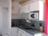 kuchyň - pronájem apartmánu Železná Ruda