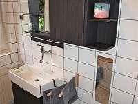 Koupelna - pronájem chalupy Babylon