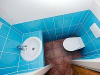 Závěsné WC - chata k pronájmu Frymburk