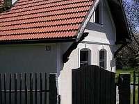 chalupa- vstup - ubytování Soběšice