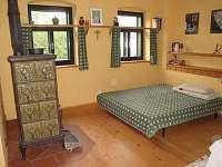 ložnice - chalupa k pronajmutí Soběšice