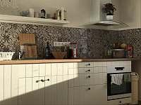 A1 - smrček, obytná kuchyň - ubytování Kvilda