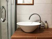 A4 - brusinka, koupelna - ubytování Kvilda