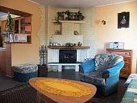 Obývací pokoj v apartmánu - Nezdice na Šumavě