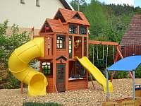 dětské hřiště - apartmán ubytování Nezdice na Šumavě
