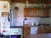 Kuchyn dum - Dobrá na Šumavě