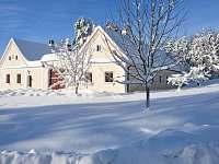 kouzelná zima - chalupa k pronájmu Pohorská Ves - Lužnice