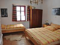 ložnice velký apartmán - Pohorská Ves - Lužnice