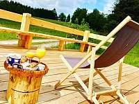 slunečná terasa - Pohorská Ves - Lužnice