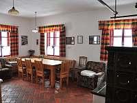 společenská místnost velký apartmán - Pohorská Ves - Lužnice