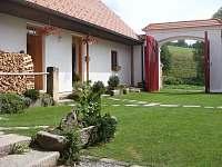 uzavřený dvůr - chalupa ubytování Pohorská Ves - Lužnice