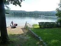 soukromý přístup k jezeru