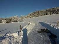 zimní krajina - Prapořiště