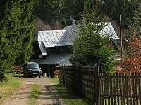 Hájenka Špičák-příjezdová cesta