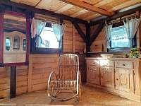 interiér - pronájem chaty Zelená Lhota