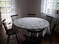 jídelna - chalupa ubytování Frymburk - Svatonina Lhota