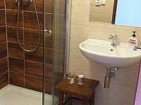 koupelna přízemí - chalupa k pronájmu Frymburk - Svatonina Lhota