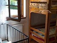 ložnice přízemí - pronájem chalupy Frymburk - Svatonina Lhota