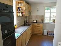 kuchyňská linka - pronájem chalupy Zdíkov