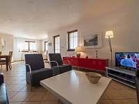 obývací pokoj vila 220 Lipno nad Vltavou. - ubytování Lipno nad Vltavou