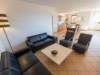 obývací pokoj vila 220 Lipno nad Vltavou - k pronajmutí
