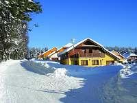 Villa park Lipno zima. -