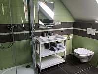 Koupelna 2 část Bára - pronájem chalupy Bližší Lhota