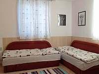 obývací část - apartmán k pronájmu Borová Lada